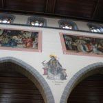 Neogotische Wandmalerei St Stephan Konstanz