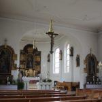 Innenraum St Albanus Burgrieden