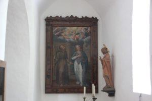 Gemaelde Kapelle Gutshof Kaeppeler