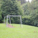 Spielplatz Bihlafingen Seilbahn