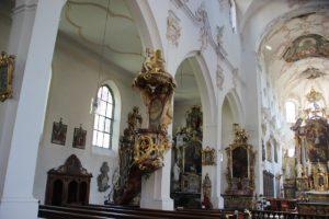 Barocke Kanzel Franziskanerkirche Ueberlingen