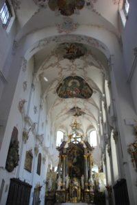 Chor und Interieur Franziskanerkirche Ueberlingen