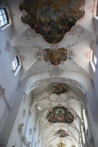 Deckenfresken Franziskanerkirche Ueberlingen