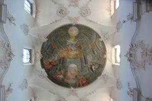 Kuppelimitation Barocke Franziskanerkirche Ueberlingen