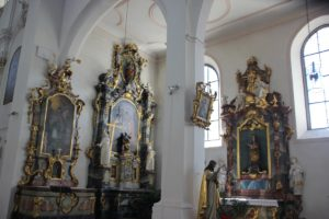 Rechte Seitenaltaere Franziskanerkirche Ueberlingen