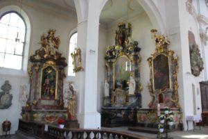 Seitenaltaere Franziskanerkirche Ueberlingen